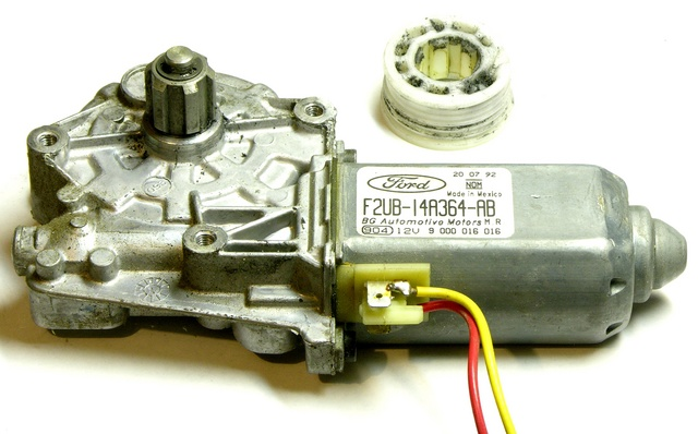 Automotive power window motor
