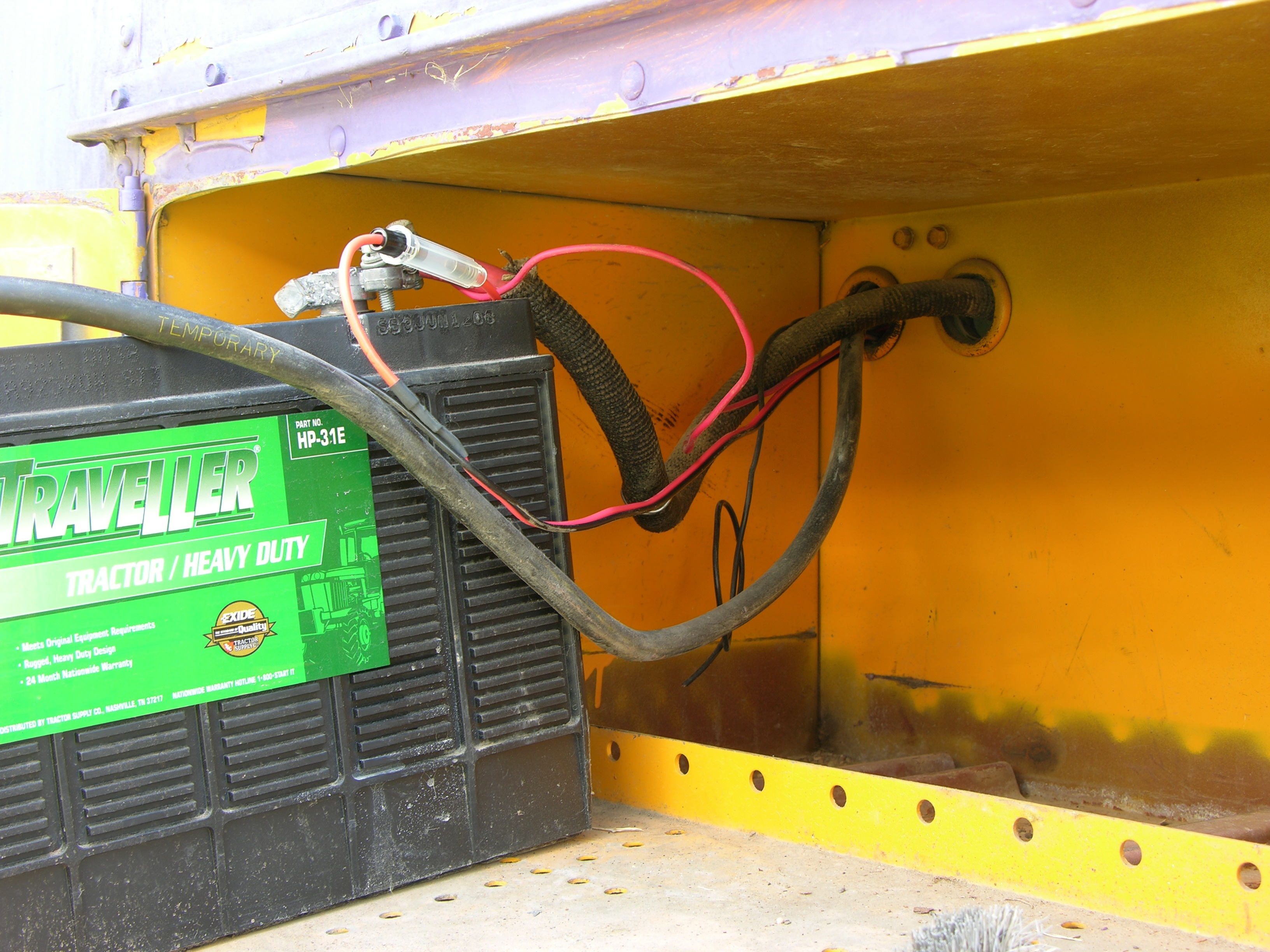 Keiths Schoolbus Conversion Blog Under Carpet Flat Wiring System Additionally Bus Battery With Trickle Charger