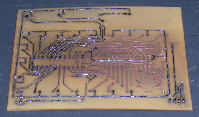 Hand-Tinning a PC Board