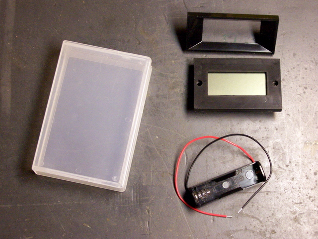 Parts to Build a Battery Meter