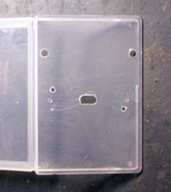 Project/Tape Case with Mounting Holes