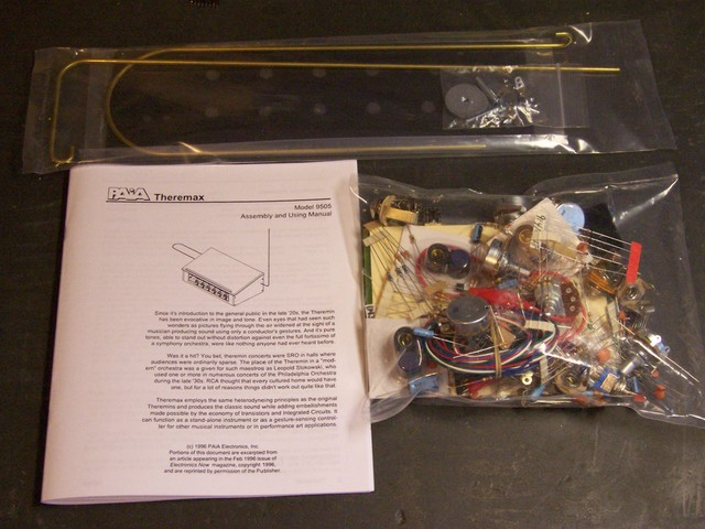 Theremax kit parts