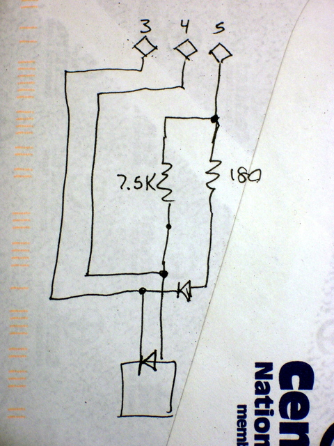 CD read sled connection diagram, reverse-engineered