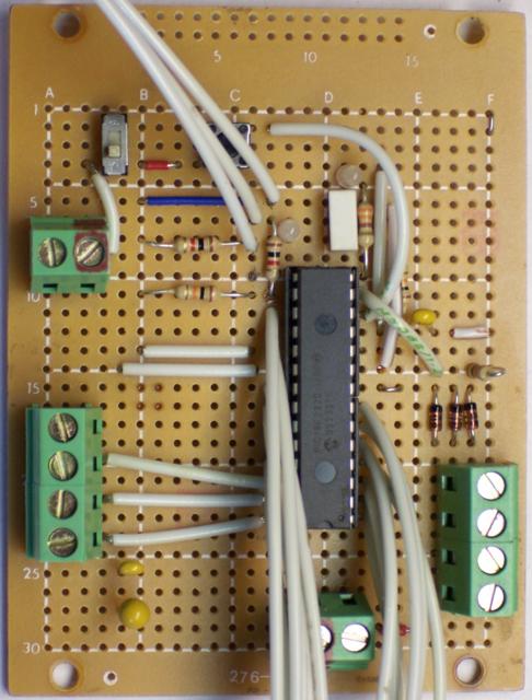 Steve Atwood's LogoChip prototyping board