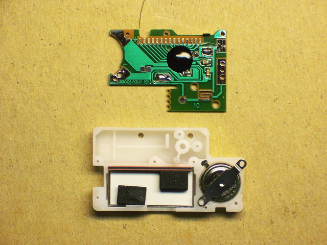 Counter PCB and screen assembly