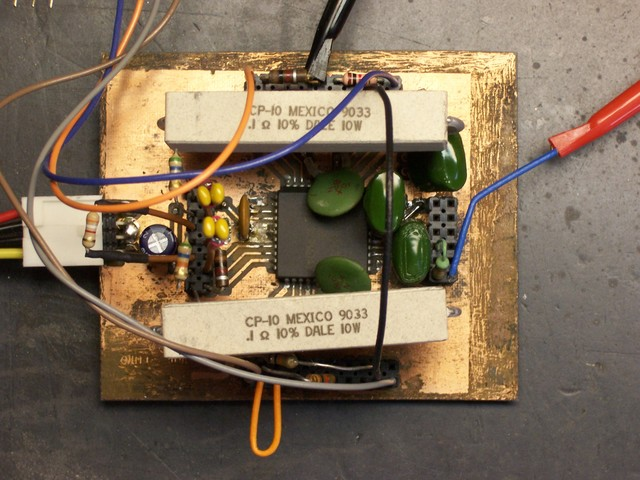 Stepper motor controller board