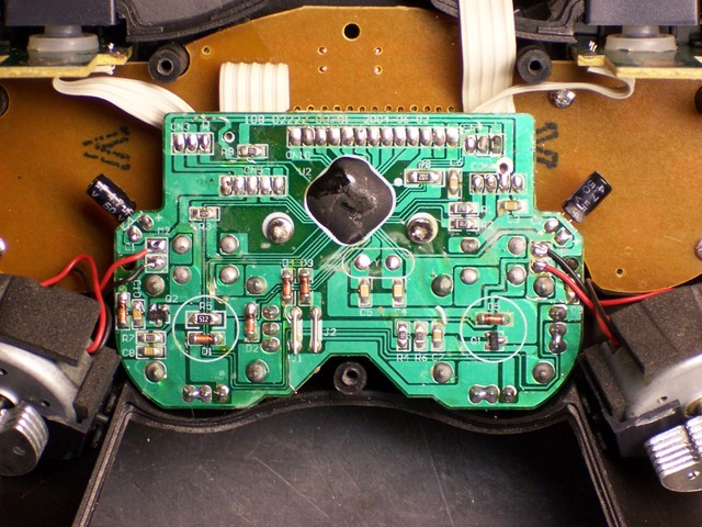 Game controller, main board
