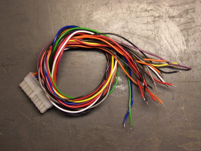 PC power supply motherboard cable harness