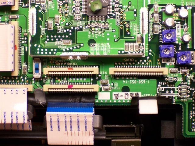 Sony VPL-351Q LCD control PCB