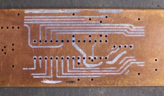 Iron-on PCB toner transfer with poor adhesion