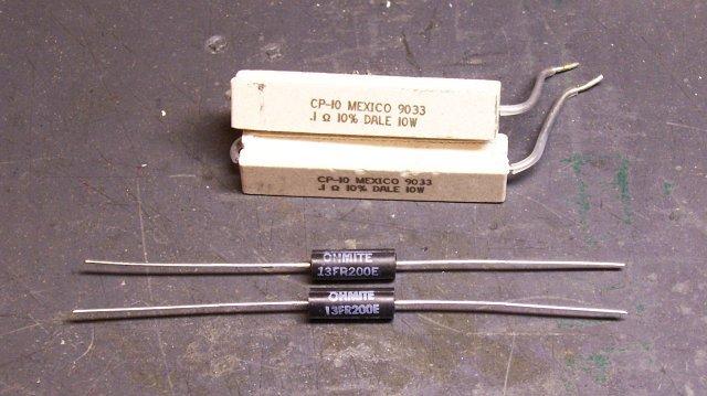 Sand resistors and non-inductive sense resistors