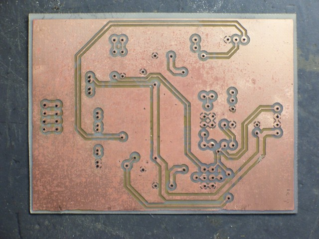 Etched PC board