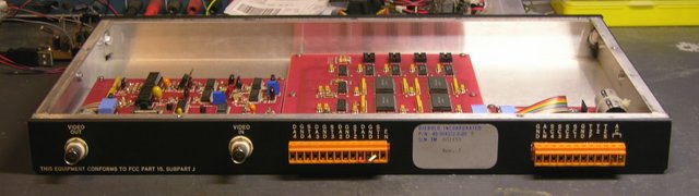 Diebold Transaction Number Generator, rear