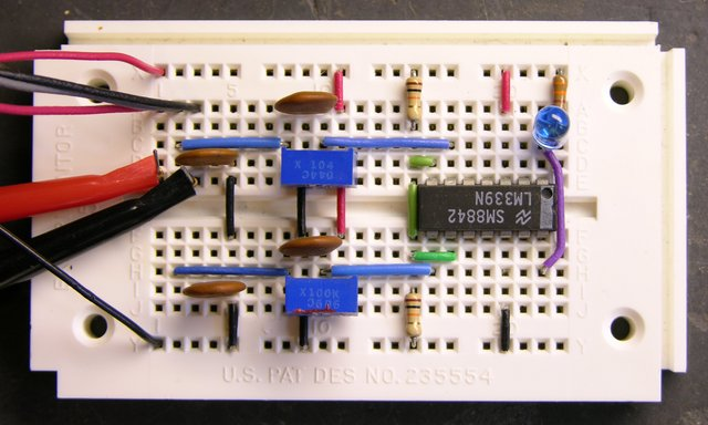 Prototype of speaker power detector