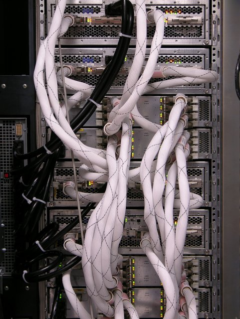 Huge SGI cluster cables