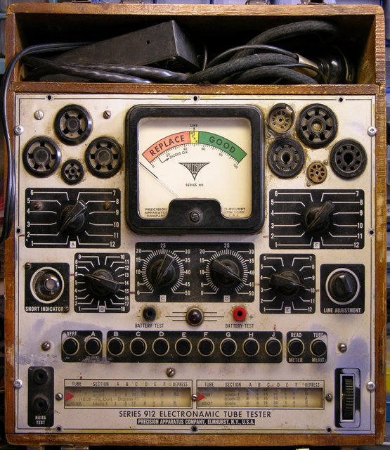 Precision Series 912 Electronamic Tube Tester
