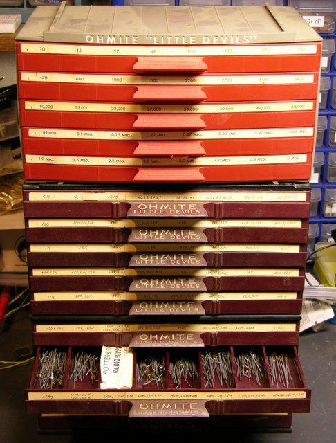 Ohmite resistor cases