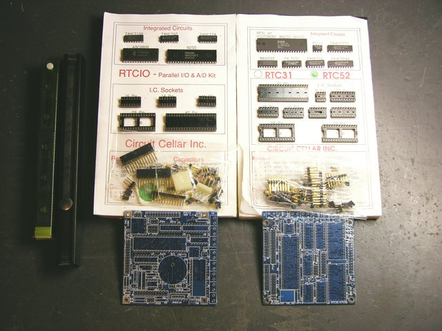 Circuit Cellar RTC52 and RTCIO kits