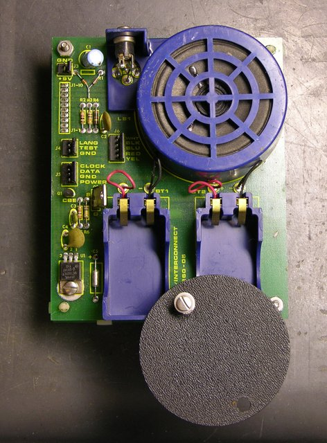 Speech synthesizer board