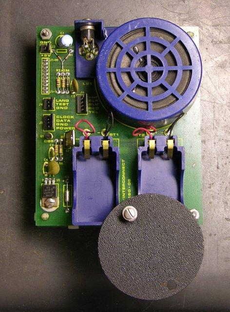 Speech synthesizer board