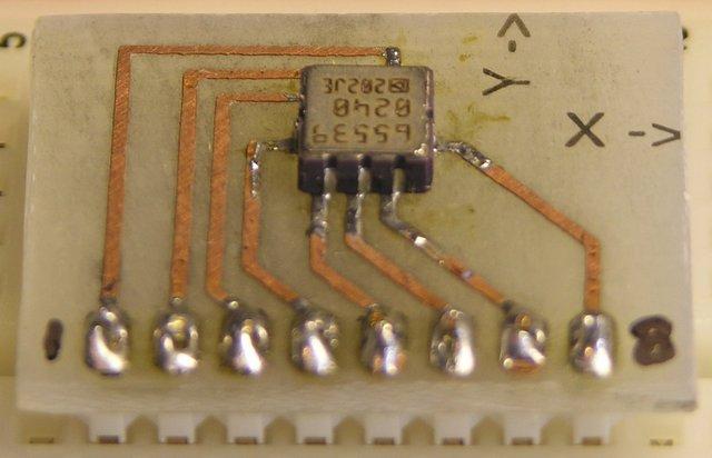 ADXL202 breakout board, LCC soldering