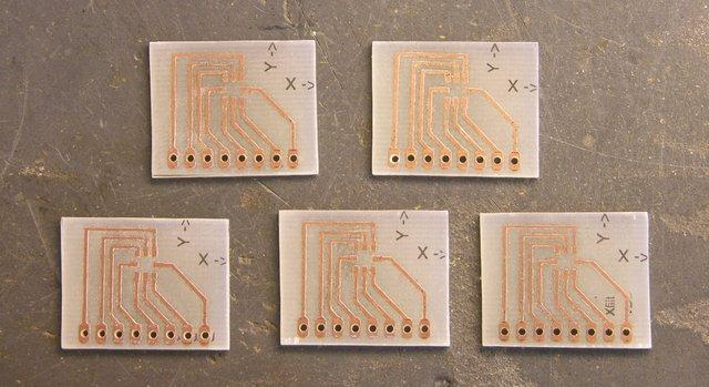 ADXL202 breakout boards