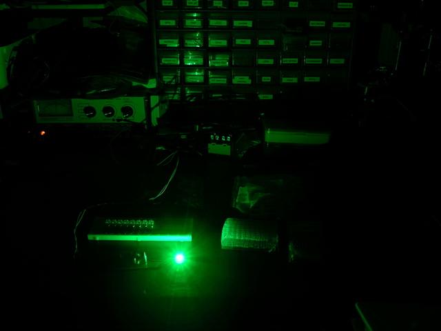 3W green LED