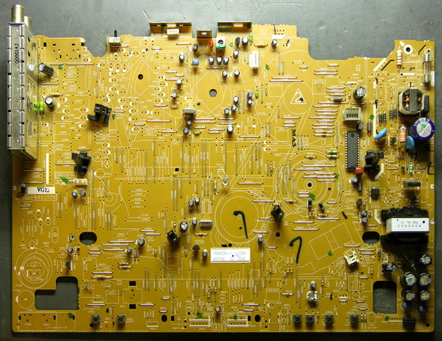 VCR main PC board