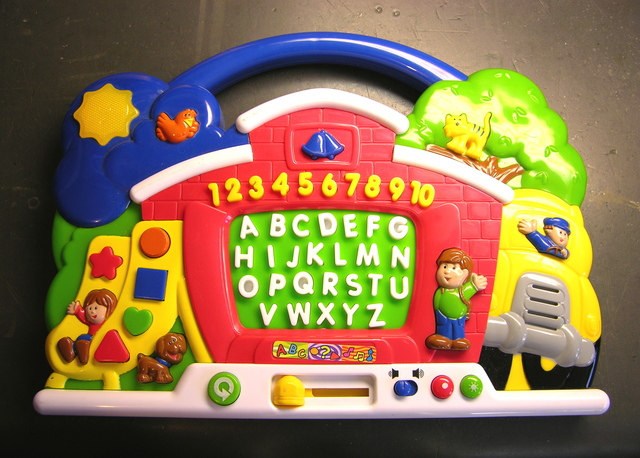 Alphabet training toy