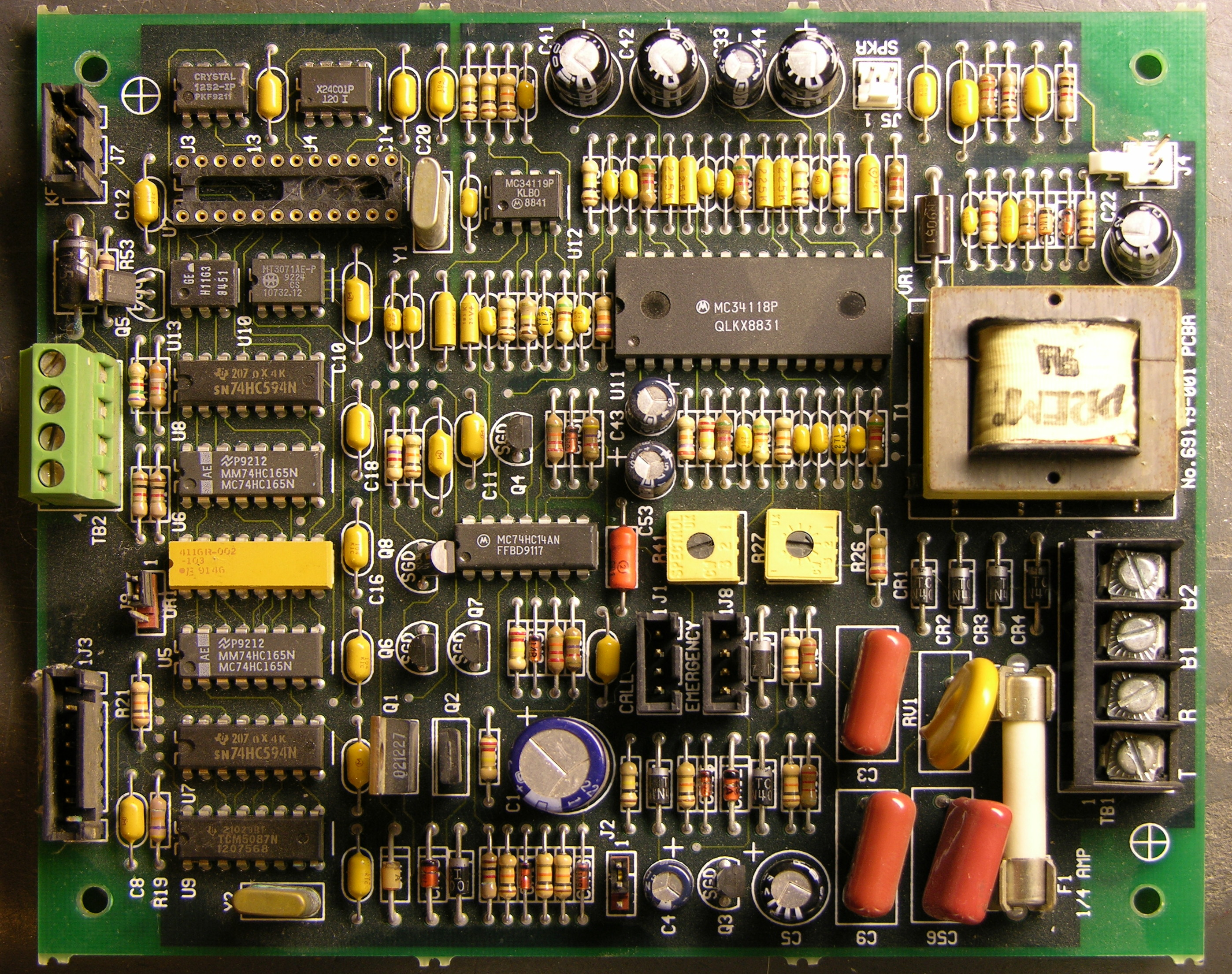 How To Sort And Store Salvaged Electronic Parts Keiths Old Style Fuse Box Circuit Board