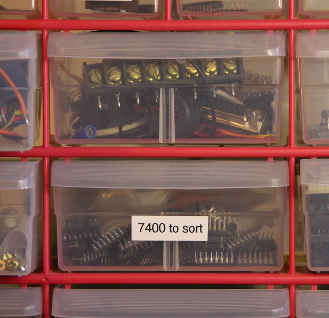 Connector and 7400 logic drawers