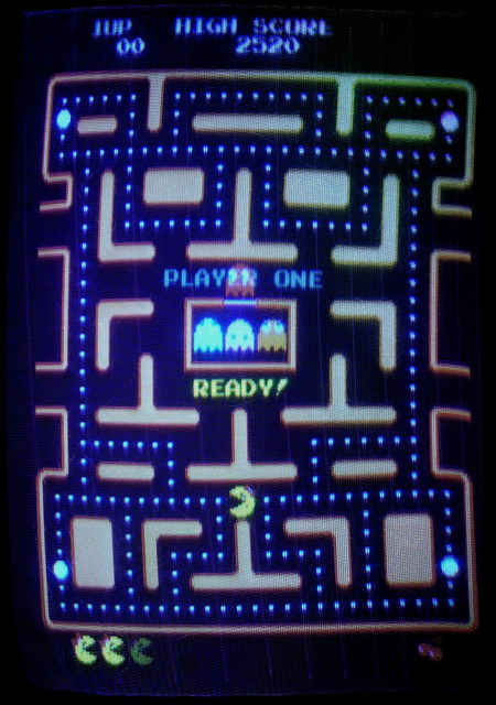 Ms Pac-Man screen