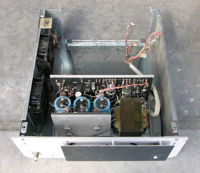 Case with Intel SBC-640 power supply, upper front