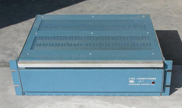 Sangamo Electric Co. LC-1 line conditioner, front