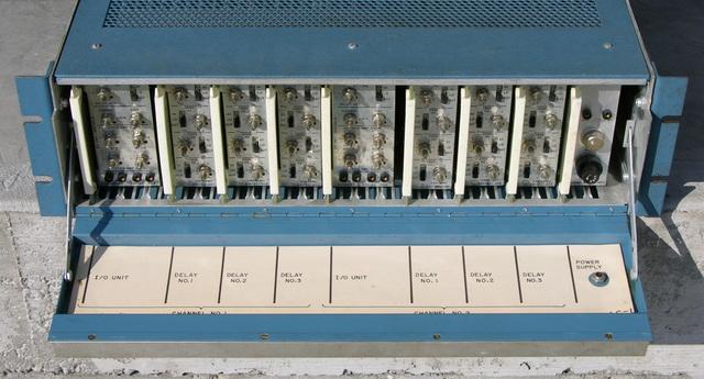 Sangamo Electric Co. LC-1 line conditioner, front open