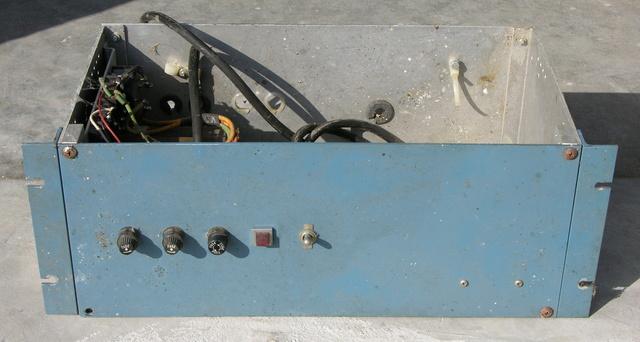 Custom power supply, front