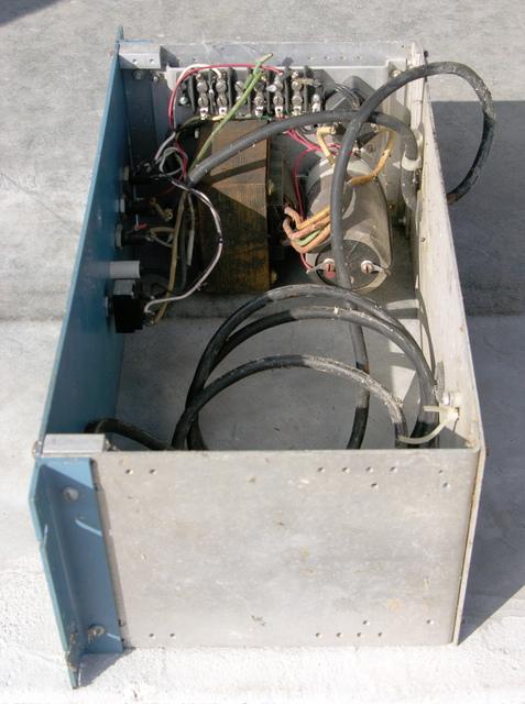 Custom power supply, interior