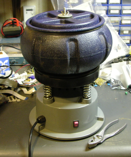 Vibratory tumbler from Harbor Freight