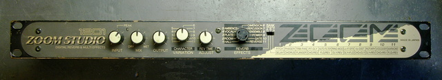 Zoom Studio 1201 effects unit