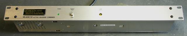 TrunkLine Millenium 95-AHC16 active headend combiner, front