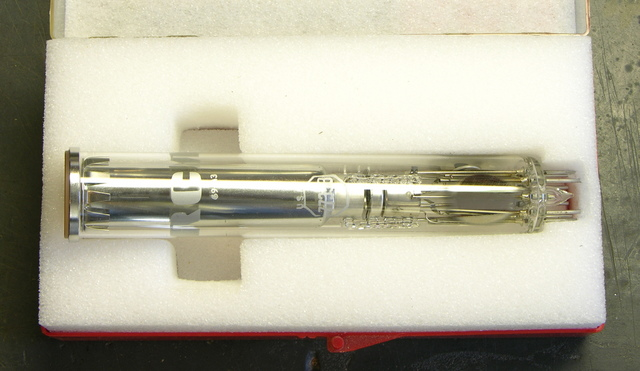 RCA 7735B Vidicon camera tube, side