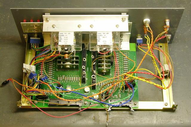 XG controller panel, rear