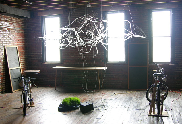Lisa Rundstrom's Organic Energy Cloud by the light of day