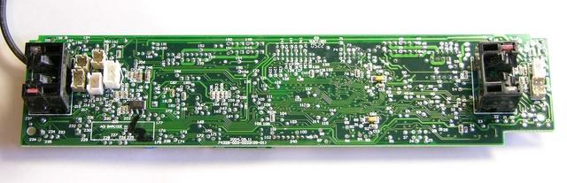 Roomba Scheduler motherboard, solder side
