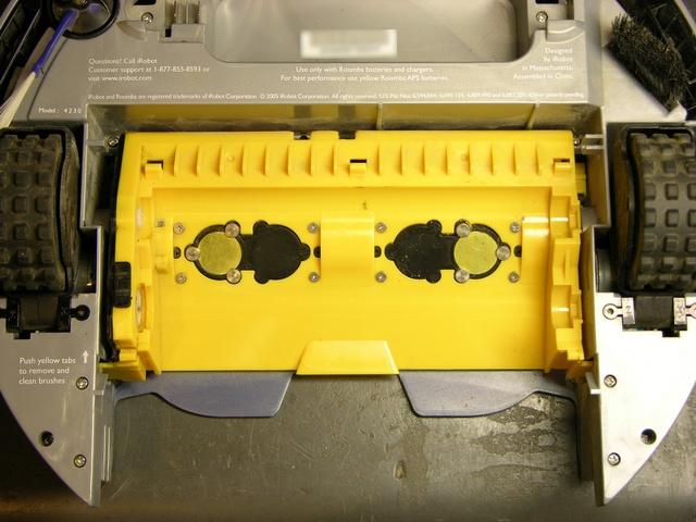 Roomba Scheduler dirt detector piezo sensors