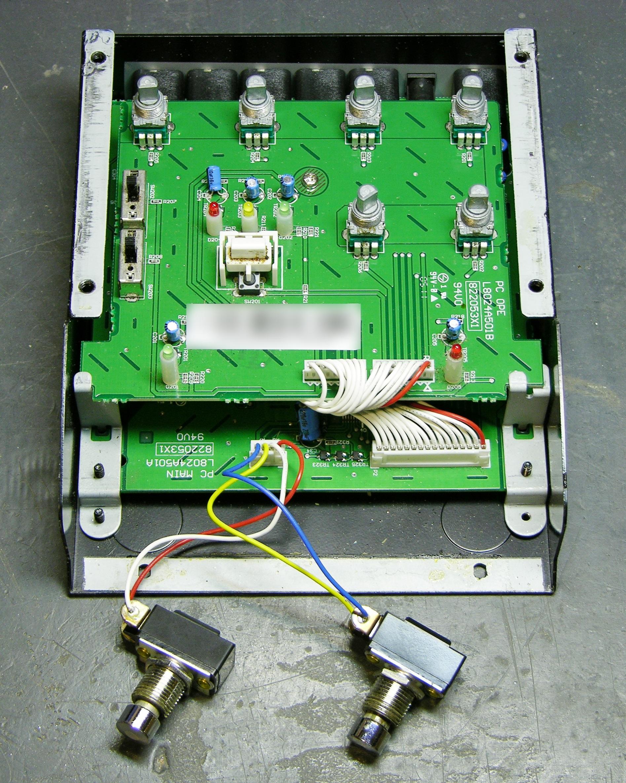 Keiths Electronics Blog Winking Leds Schematics Wiring Diagram Circuits Schema Electronic Akai Headrush E2 Delay Loop Controller Upper Pc Board