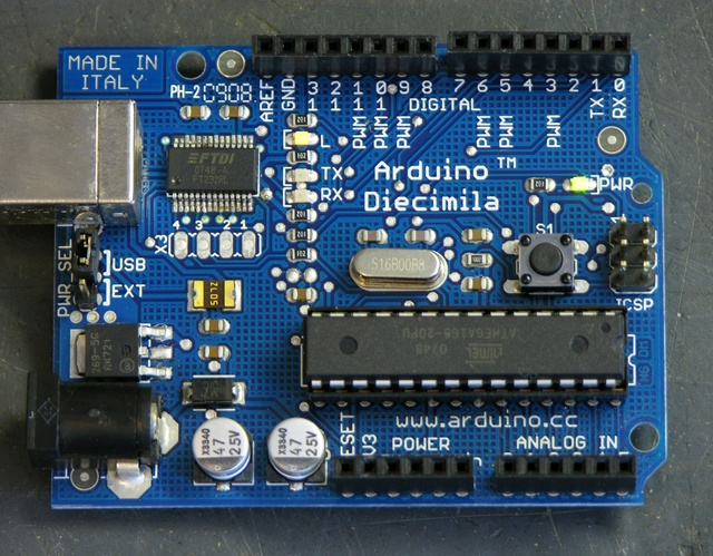 Arduino with replaced FTDI FT232RL chip