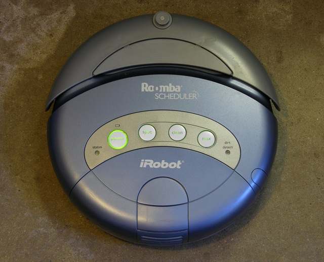 Roomba Scheduler powered up and ready to run
