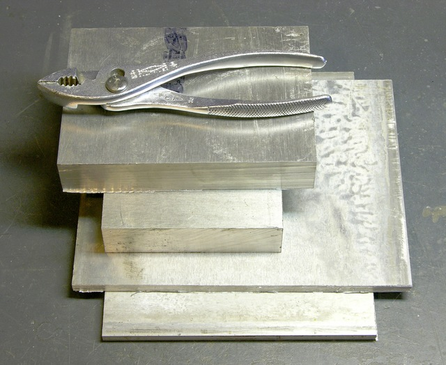 Aluminum blocks and plates