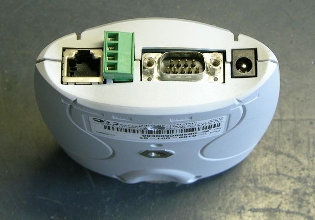 Axis 2100 network camera, end view
